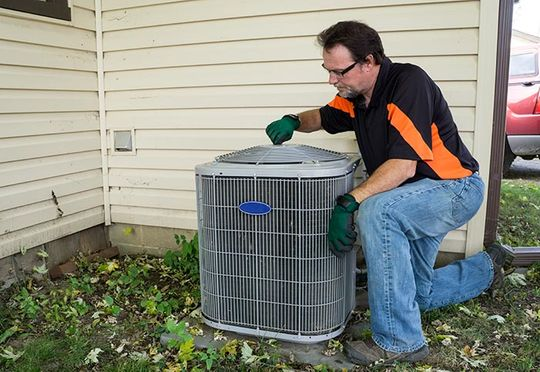 External Air Condition Repair